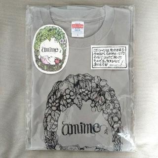 ヒグチユウコ  amime Tシャツ グレー Lサイズ
