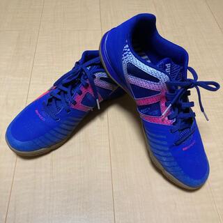 プーマ(PUMA)の☆☆新品未使用☆☆プーマ PUMA 青×ピンク サッカー フットサル 27cm(シューズ)