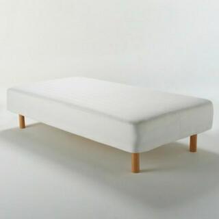 ムジルシリョウヒン(MUJI (無印良品))の無印ベット(シングルベッド)