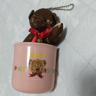 ピンクハウス(PINK HOUSE)の2614新品ピンクハウス マグカップ&クマのチャーム(その他)