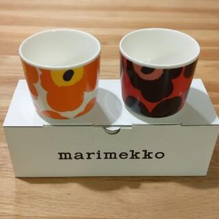 marimekko - マリメッコ ラテマグ ウニッコ 2個セット