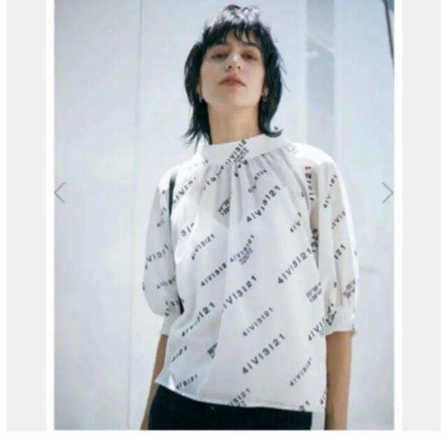 Ameri VINTAGE(アメリヴィンテージ)のAMERI PASSCODE GATHER BLOUSE レディースのトップス(シャツ/ブラウス(長袖/七分))の商品写真