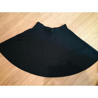 ViS - VIS 膝上丈フレアスカートS 黒 ブラック ビス  美女組