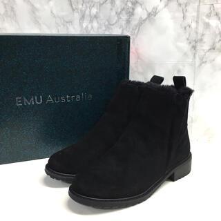 エミュー(EMU)のemu エミュー パイオニア ショートブーツ W11292 23cm 防水(ブーツ)