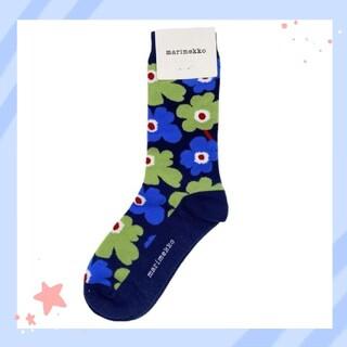 marimekko - マリメッコ❤Marimekko 定番ウニッコの靴下