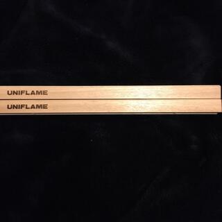 ユニフレーム(UNIFLAME)のユニフレーム 焚き火テーブル ウッド パーツ(テーブル/チェア)