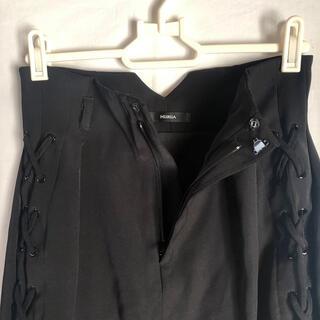 ムルーア(MURUA)のMURUA  編み上げタイトスカート(ミニスカート)