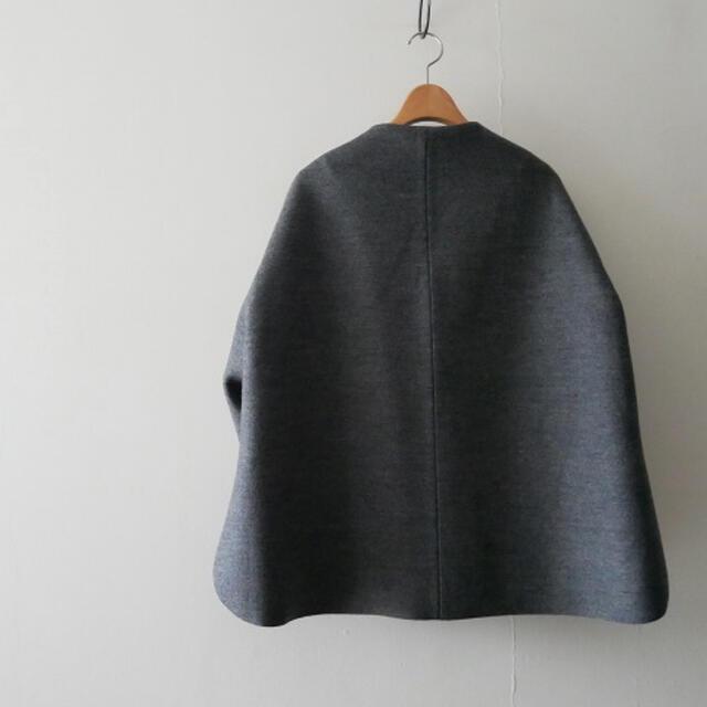 ENFOLD(エンフォルド)のENFOLD エンフォルド  ボンディングショートコート ロンハーマン    レディースのジャケット/アウター(ノーカラージャケット)の商品写真