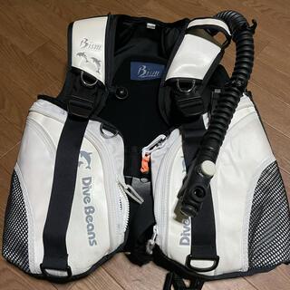 ビーイズム(Bism)のBism製ダイビングBCDジャケット Mサイズ(マリン/スイミング)