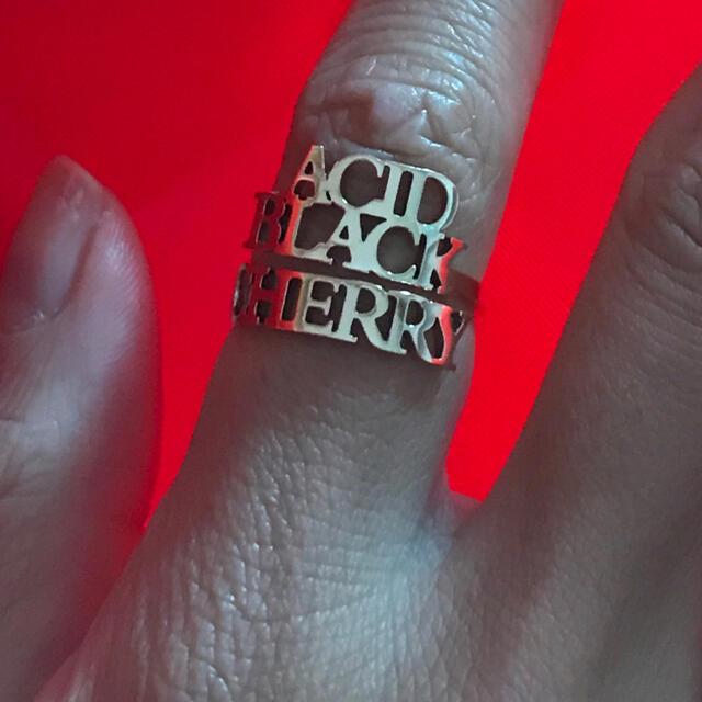Acid Black Cherry 指輪 リング エンタメ/ホビーのタレントグッズ(ミュージシャン)の商品写真