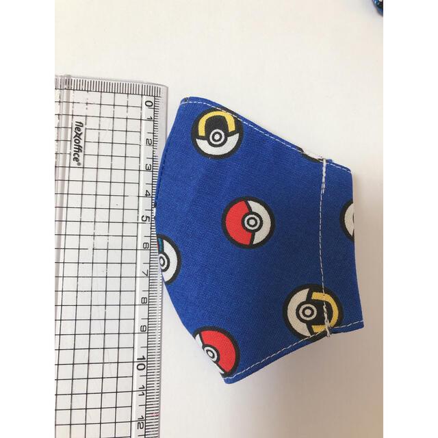 ポケモン(ポケモン)の154   インナーマスク ポケモン ハンドメイドのキッズ/ベビー(外出用品)の商品写真