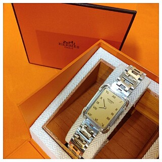 Hermes - エルメス時計美品 クロアジュール ・ ボーイズ メンズ サイズ