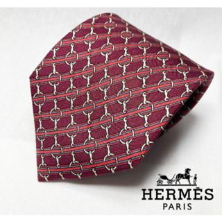 Hermes - HERMES ネクタイ シルク100% エルメス