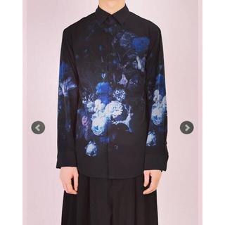 LAD MUSICIAN - ラッドミュージシャン 花柄シャツ 青薔薇 46