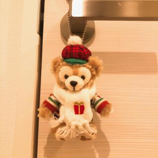 Disney - ダッフィー ぬいぐるみ キーホルダー クリスマス