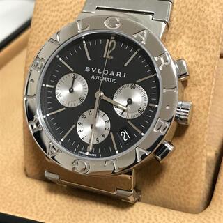 BVLGARI - BVLGARI ブルガリブルガリ BB38SSCH腕時計 クロノグラフ