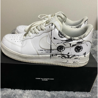 Supreme - supreme cdg air force 1 28.5