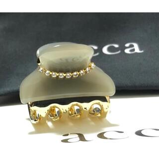 acca - アッカ クリップ Sサイズ グレー ニューコラーナ
