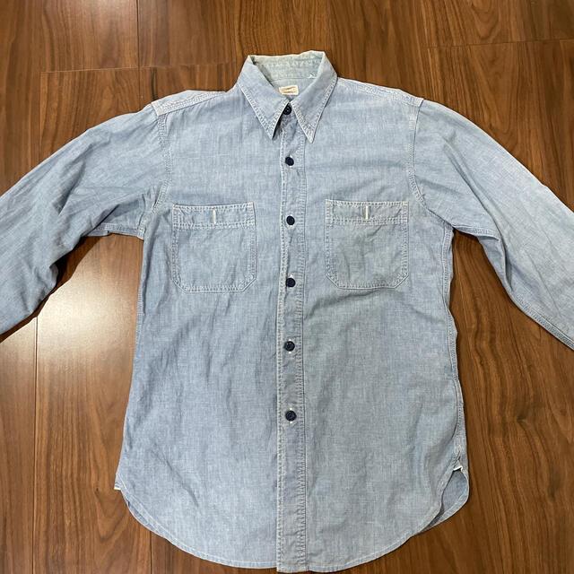 WAREHOUSE(ウエアハウス)のウェアハウス シャンブレーシャツ メンズのトップス(シャツ)の商品写真