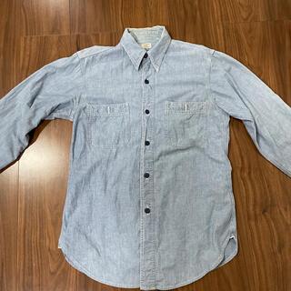 WAREHOUSE - ウェアハウス シャンブレーシャツ