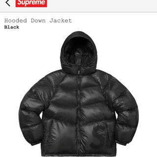 20AW supreme hooded down jacket L ダウン
