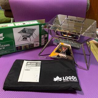 ロゴス(LOGOS)の新品未使用 LOGOS the ピラミッドTAKIBI Mサイズ (ストーブ/コンロ)