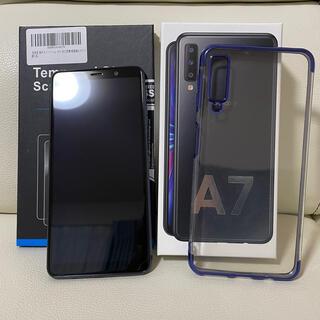 Galaxy - 【美品】楽天モバイル Galaxy A7 RAM4GB ROM64GB ブラック