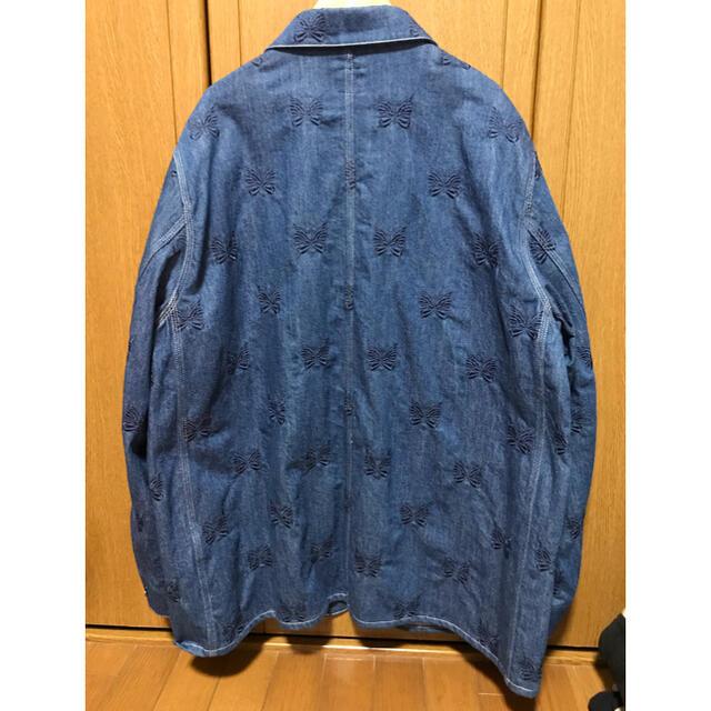 Needles(ニードルス)のニードルス needles カバーオール デニムジャケット パピヨン メンズのジャケット/アウター(カバーオール)の商品写真