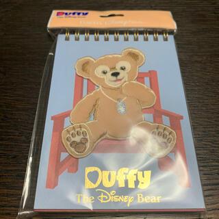 ダッフィー(ダッフィー)の新品!Duffyミニノート(ノート/メモ帳/ふせん)
