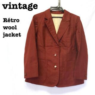 ロキエ(Lochie)の美品【 vintage 】 レトロジャケット テーラードジャケット ブレザー(テーラードジャケット)