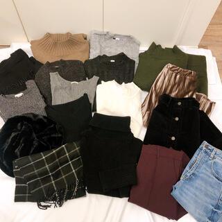GU - まとめ売り レディース洋服 29点 秋冬洋服