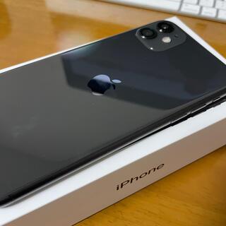 iPhone - iPhone 11 128GB ブラック Simフリー バッテリー100%