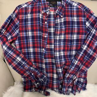 BEAMS - beams チェックシャツ