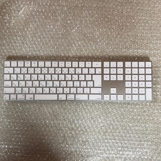 Mac (Apple) - Apple Magic Keyboard テンキー付き 日本語 JIS シルバー
