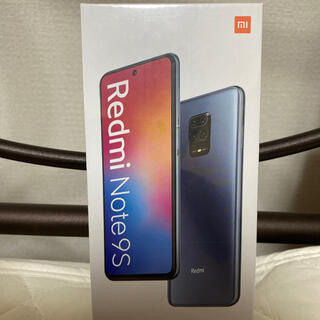 ANDROID - ★早い者勝ち★ 新品 未開封 Redmi Note 9s 4G/64G グレー