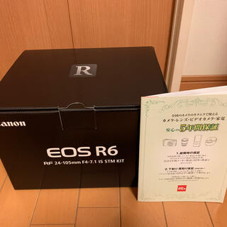 Canon - 新品 Canon EOS R6 RF24-105 IS STM レンズキット