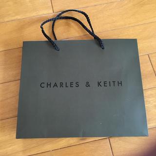 チャールズアンドキース(Charles and Keith)のショップ袋(ショップ袋)