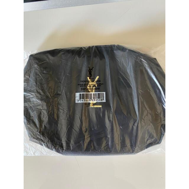 Yves Saint Laurent Beaute(イヴサンローランボーテ)の新品未使用 イブサンローランノベルティポーチ レディースのファッション小物(ポーチ)の商品写真