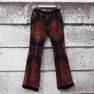 グリモワール(Grimoire)の70's Vintage Arabesque velveteen pants(カジュアルパンツ)