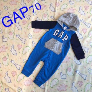 babyGAP - GAPクマミミロンパース70㎝