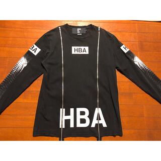 フードバイエアー(HOOD BY AIR.)のHBA X-RAY ジップシャツ(Tシャツ/カットソー(七分/長袖))