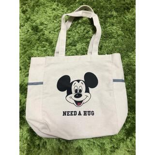 ミッキーマウス(ミッキーマウス)の【トートバッグ】レトロミッキー×Leeコラボトートバッグ(キャンバス生地)(トートバッグ)