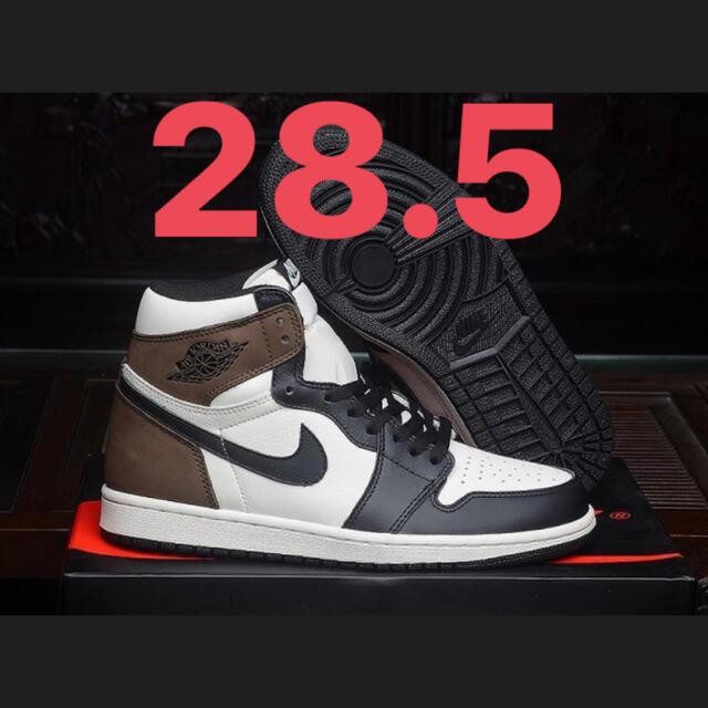 NIKE(ナイキ)のNIKE AIR JORDAN 1 HIGH OG Dark Mocha  メンズの靴/シューズ(スニーカー)の商品写真