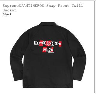 Supreme - Supreme ANTIHERO Twill Jacket Black S