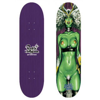 2枚 ロッキンジェリービーン シレーヌ 紫 緑(スケートボード)