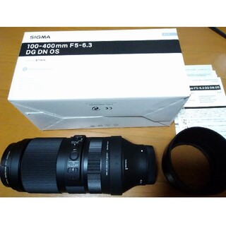 SIGMA - 新同品 ほぼ未使用品 シグマ 100-400mm F5-6.3 ソニーEマウント