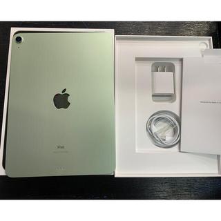 iPad - 超美品 iPad Air 4th 64GB Wi-Fiモデル グリーン