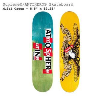 シュプリーム(Supreme)のSupreme ANTIHERO Skateboard Multi Green (スケートボード)