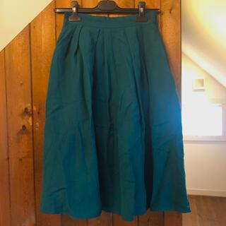 ViS - ViS グリーンスカート Sサイズ