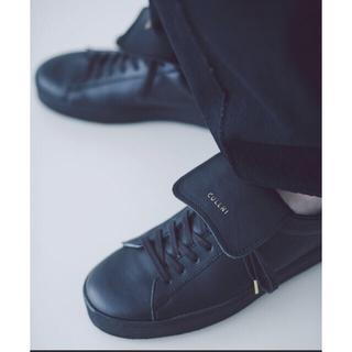 ステュディオス(STUDIOUS)のクルニ CULLNI レザースニーカー  革靴 (スニーカー)